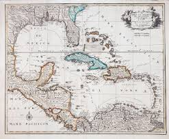 Iu Map Antique Map Of Gulf Of Mexico U0026 Caribbean 1792