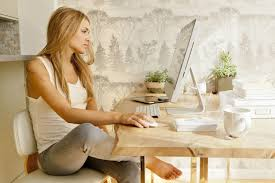 how to set up your first home office