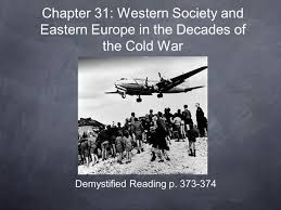 demystified reading p chapter 31 western society and eastern