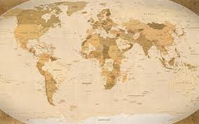 photo collection world map wallpaper 19