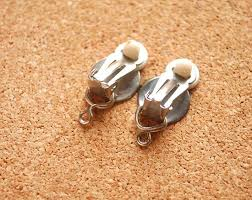 how to make clip on earrings large clip earrings clip on stud earrings gold clip on earring