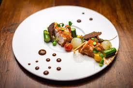 cuisine ris de veau ris de veau et chorizo photo de restaurant le gambetta saumur