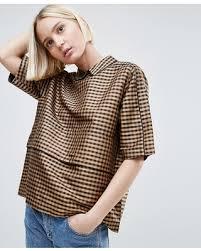 shell blouse deal alert 79 ganni silk shell blouse brown