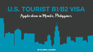 us tourist b1 b2 visa application in the philippines youtube