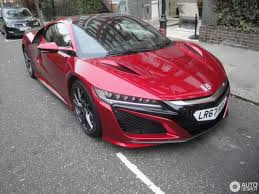 honda supercar honda nsx 2016 4 december 2017 autogespot