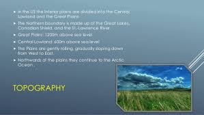 The Interior Plains Climate The 8 Physical Regions Of North America