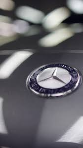 mercedes logo mercedes benz car logo detail iphone 6 wallpaper hd free
