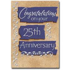 25th Anniversary Wishes Silver Jubilee Silver Jubilee Card The Printery House