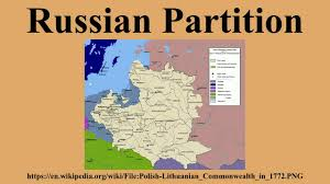russia map before partition russian partition