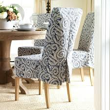 slipcovers for chairs with arms slip covered dining room chairs rimas co