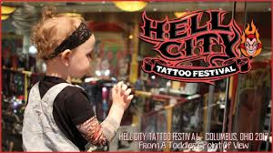 hell city tattoo convention from a toddler u0027s point of view