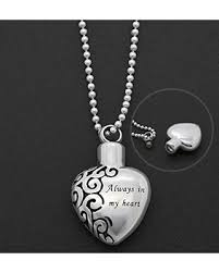 necklaces for ashes from cremation bargains on cremation necklace ashes jewelry always in my heart
