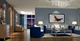 Blue Living Room Decor Magnificent Blue Living Room Fabulous Decorating Ideas With