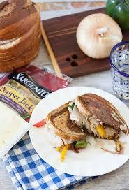 turkey fajita panini low calorie healthy food done light