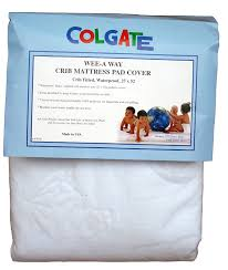 Heated Crib Mattress Pad Colgate Wee A Way Waterproof Crib Mattress Pad