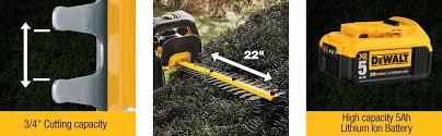 amazon black friday deals on string rimmer amazon com dewalt dcht820b 20 v max hedge trimmer baretool