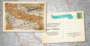 postcard wedding invitations vintage italian postcard wedding invitation invites i designed