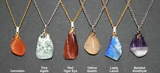 stone charm necklace images How to make a polished stone pendant necklace jpg
