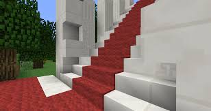 carpeted stairs suggestions minecraft java edition