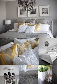 gray yellow u0026 white love these colors together my next bedroom