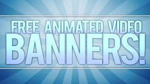 free animated video banner template adobe after effects youtube