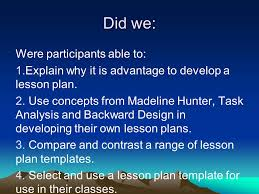 effective lesson planning ppt video online download