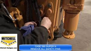 case 580 super n instructions youtube