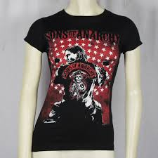 Anarchy Flag Sons Of Anarchy T Shirt Girls Jax Flag Poster