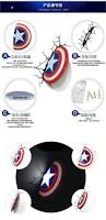 Avengers Wall Lights Marvel Super Heroes The Avengers Captain America Shield Wall Lamps