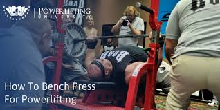 Powerlift Bench How To Bench Press For Powerlifting Powerlifting University