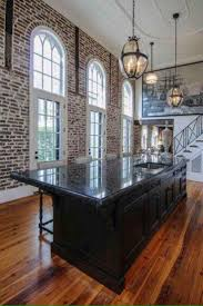 old brick kitchen design french colonial kitchen design metal