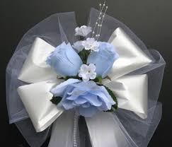 pew bows 12 pew bows church decoration wedding bouquet bridal silk