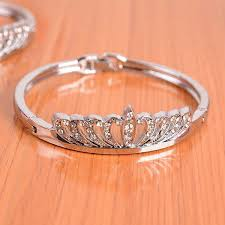 price bracelet images High quality low price fashion crown bracelet diamond bracelet jpg