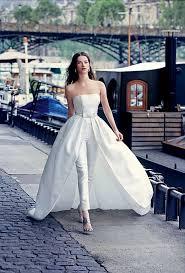 wedding dress jumpsuit go the veil s bridal jumpsuit andreafenise