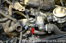 volkswagen golf gti mk iv coolant temperature sensor replacement