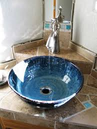 good idea for corner vanity sink not to mention gorgeous