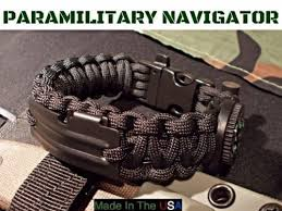 fire survival bracelet images 550 paracord edc navigator survival bracelet compass jpg