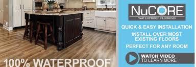 nucore waterproof flooring floor u0026 decor