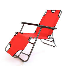 2 x charles jacobs stylish sun lounger reclining chairs red