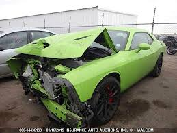 dodge hellcat specs crashed 2015 dodge challenger hellcat is going to insurance