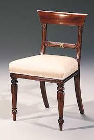 Regency Dining Table And Chairs Fine English Dining Room Chairs Antique And Reproduction