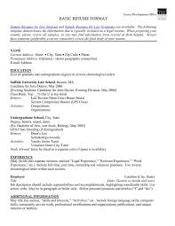 resume examples basic resume templates free free resume template