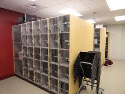 file locker room george n parks minuteman marching band building
