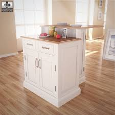 woodbridge two tier kitchen island home styles by humster3d