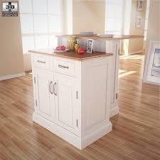 home style kitchen island woodbridge two tier kitchen island home styles by humster3d