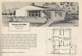 1950s mobile home floor plans
