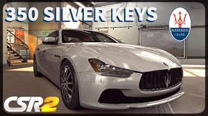 maserati silver csr racing 2 10x maserati ghibli 350 silver keys can i get
