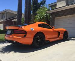 Dodge Viper Limited Edition - 2017 special