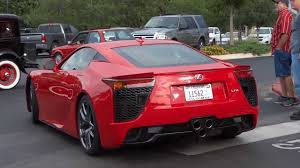 lexus lfa modified red lexus lfa supercar drive by youtube