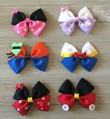 minnie mouse hair bow minnie mouse hair bows disney hair bows goofy hair bow